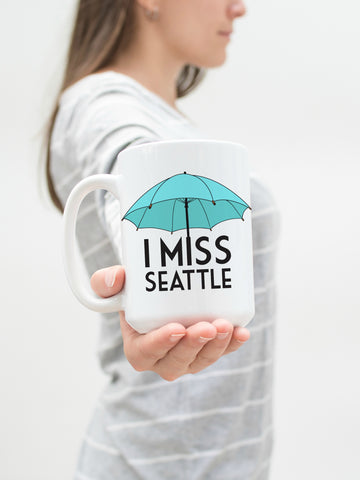 I Miss Seattle 15 oz Mug