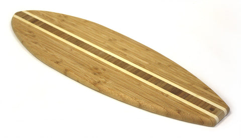 Simply Bamboo 22 X 7 Kona Surf Cutting Board