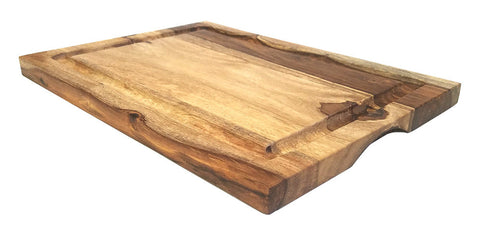 Mountain Woods 16.5 X 12 Sheesham Cutting Board W/ Juice Groove