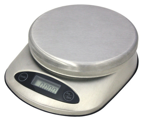 11 lb. Siena Stainless Steel Professional Food Scale by ZUCCOR