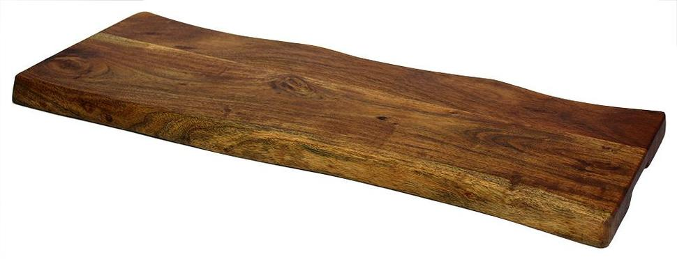 Antique Style Artisan Wood Platform Cheese Cutting | Serving Board Tray