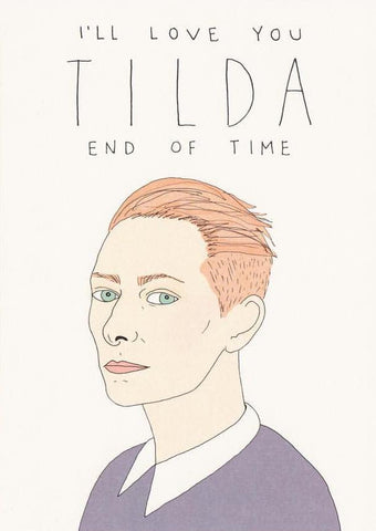 Tilda End Of Time - Fineasslines Greeting Card - Ottawa, Canada