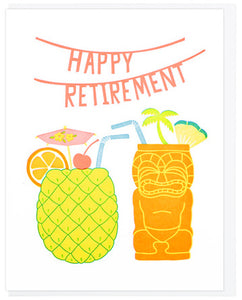 Happy Retirement - Lucky Horse Press Greeting Card - Ottawa, Canada