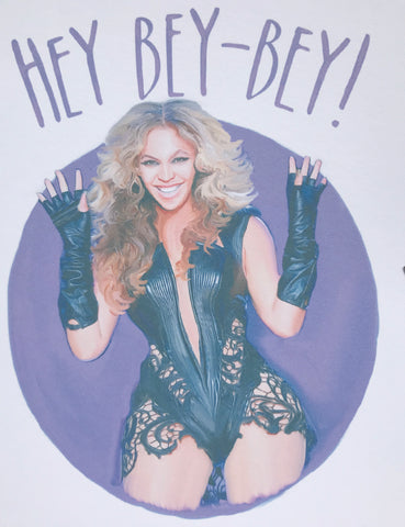 Hey Bey Bey Greeting Card