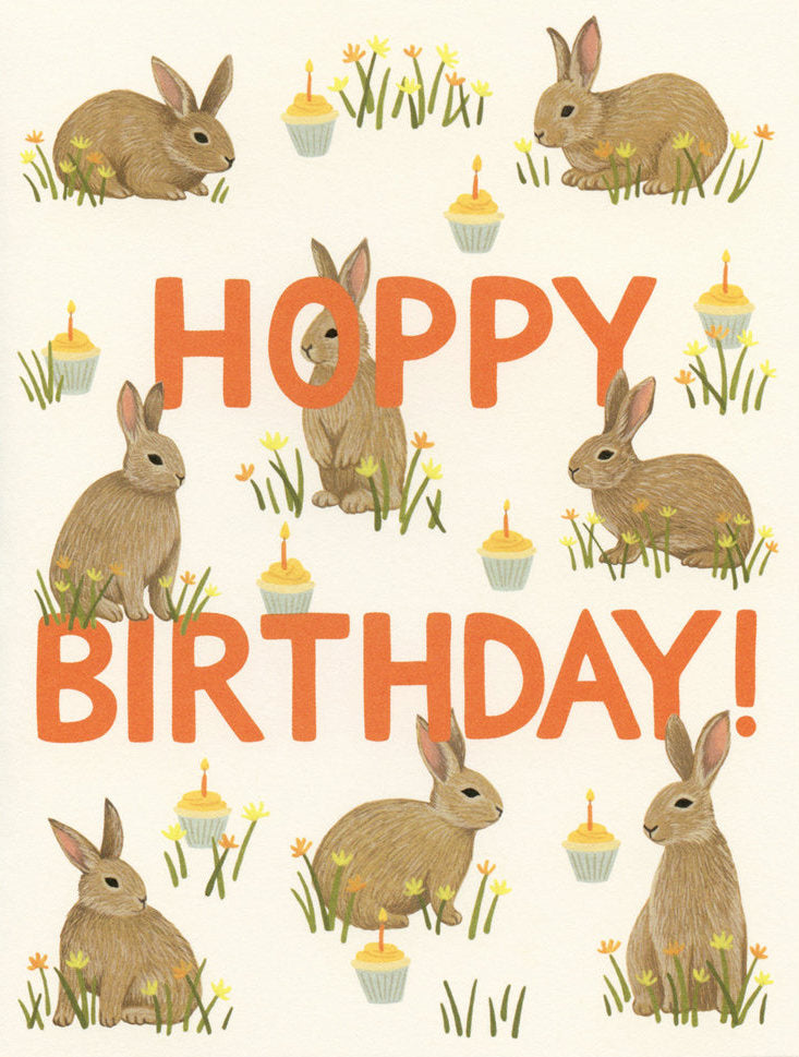 Hoppy Birthday - Yeppie Paper Greeting Card - Ottawa, Canada