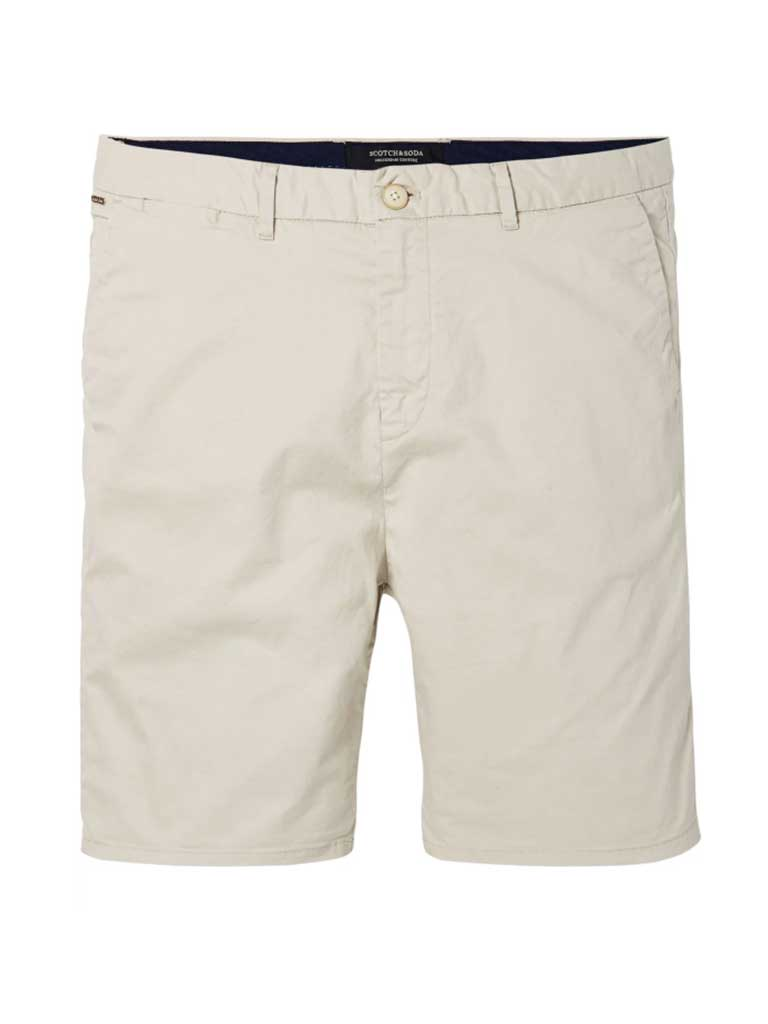 Scotch & Soda Chino Shorts in Stone