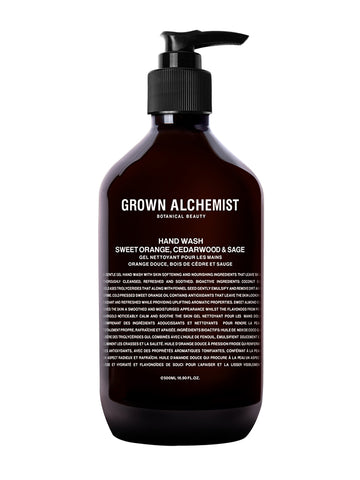 Grown Alchemist Handwash in Sweet Orange, Cedarwood & Sage