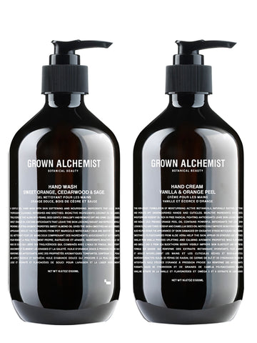 Grown Alchemist Hand Wash & Hand Cream