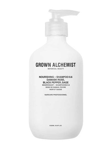 Grown Alchemist Nourishing Shampoo in Rose, Black Pepper, Sage
