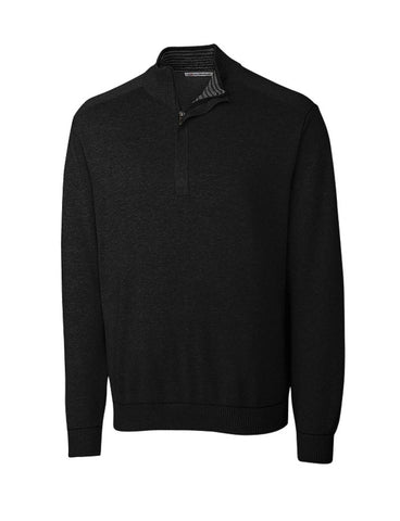 Cutter & Buck Men's Broadview Half-Zip Sweater