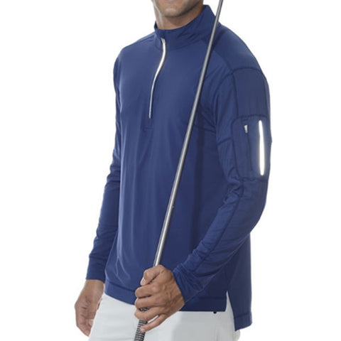 Men's UPF 50 Mock Zip