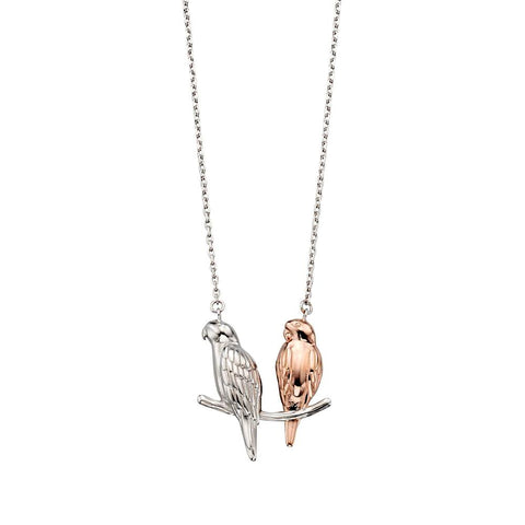 Two Love Birds Necklace