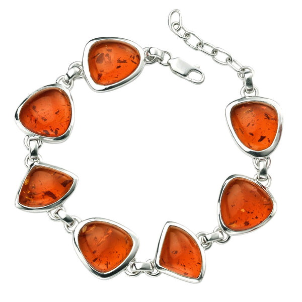 Amber Shapes Bracelet from the Bracelets collection at Argenteus Jewellery