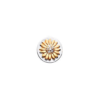 Virtue Keepsake Daisy Insert 10mm from the Keepsake Inserts collection at Argenteus Jewellery