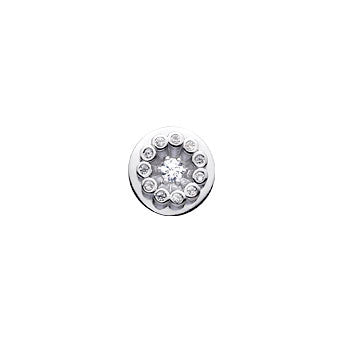 Virtue Keepsake Crystal Sun Insert 10mm from the Keepsake Inserts collection at Argenteus Jewellery