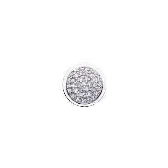 Virtue Keepsake Crystal Pave Insert 10mm from the Keepsake Inserts collection at Argenteus Jewellery