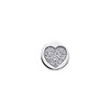 Virtue Keepsake Crystal Heart Insert 10mm from the Keepsake Inserts collection at Argenteus Jewellery
