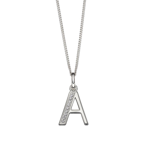 Alphabet Necklace - A