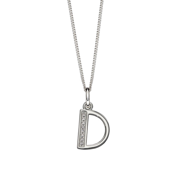 Alphabet Necklace - D from the Necklaces collection at Argenteus Jewellery