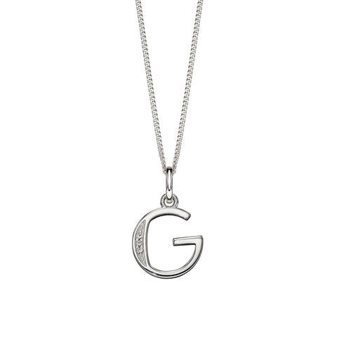 Alphabet Necklace - G