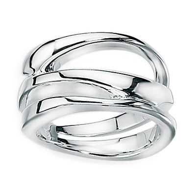 Sculpture Open Band Ring