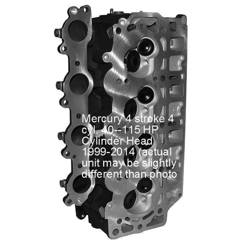 Mercury Outboard Cylinder Head 4-Cyl. 4-Stroke 40-115 HP 1999-2014