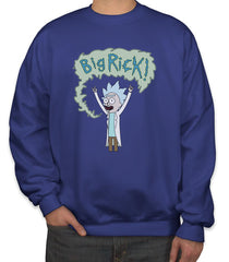 Big Rick, Rick and Morty Unisex Crewneck Sweatshirt (Adult)