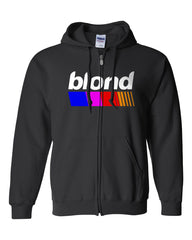 Blond Nascar Top Frank Ocean Unisex Zip Up Hoodie Jumper