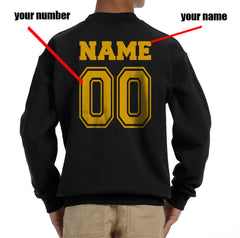 Customize - New Hufflepuff CHASER Quidditch Team Kid / Youth Crewneck Sweatshirt Black