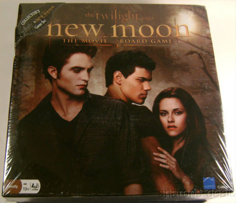 Collectors Set Twilight & New Moon The Movie Board Game Saga 2-8 Players Sealed - FUNsational Finds - 1