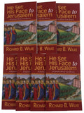 Lot of 7 He Set His Face to Jerusalem Lenten Study Adults Richard Wilke 2013 - FUNsational Finds - 2