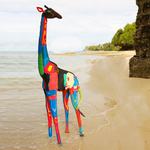 Flip-Flop Giraffe | Upcycled, Recycled, Repurposed, Reimagined | Changing Tides