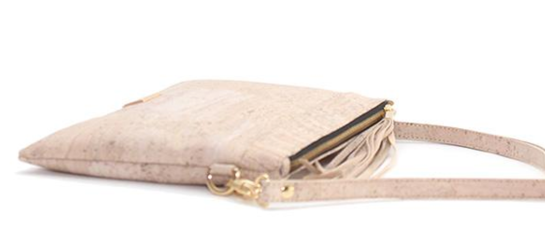 Cork Medlyn Clutch | Upcycled, Recycled, Repurposed, Reimagined | Changing Tides