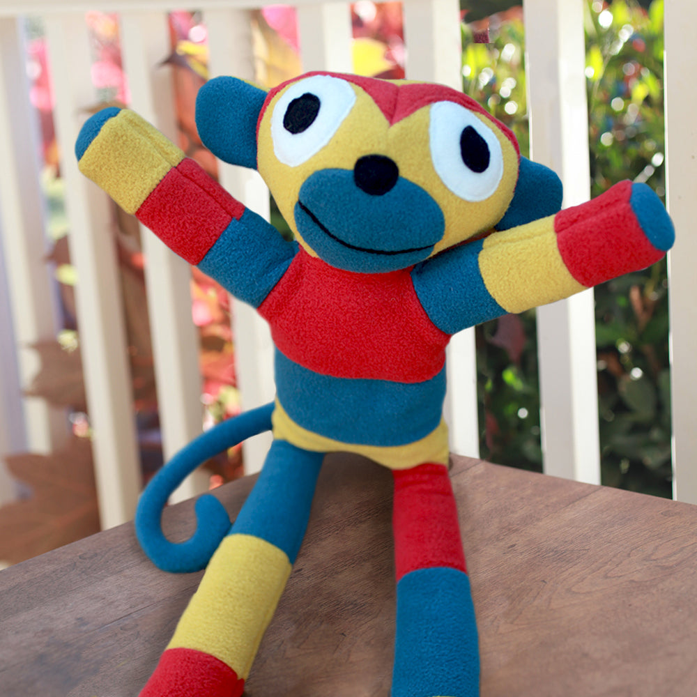 Fleece Monkey | Upcycled, Recycled, Repurposed, Reimagined | Changing Tides