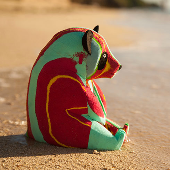 Flip-Flop Panda | Upcycled, Recycled, Repurposed, Reimagined | Changing Tides