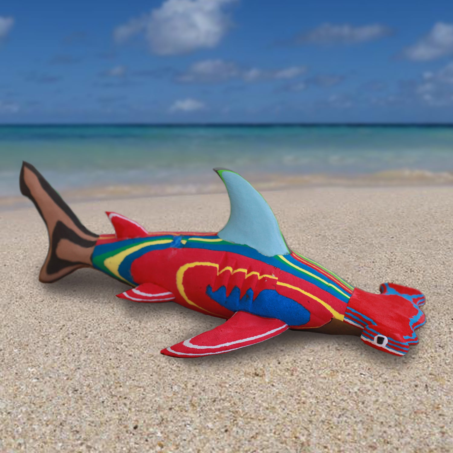 Flip-Flop Hammerhead Shark | Upcycled, Recycled, Repurposed, Reimagined | Changing Tides