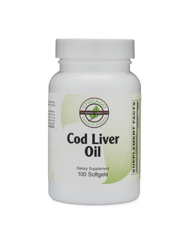 Cod Liver Oil-supplement-Chicago-Health-Foods