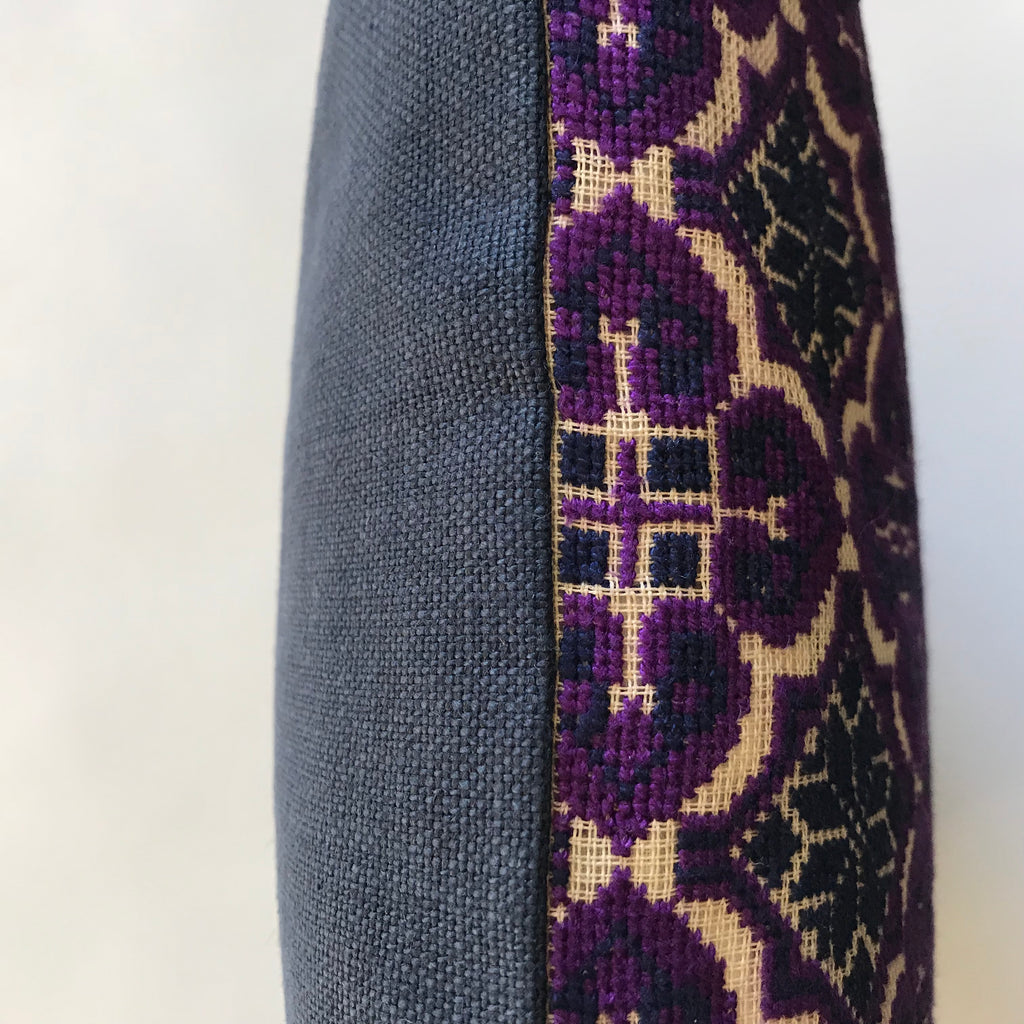 Moon of Ramallah - Navy Blue & Purple