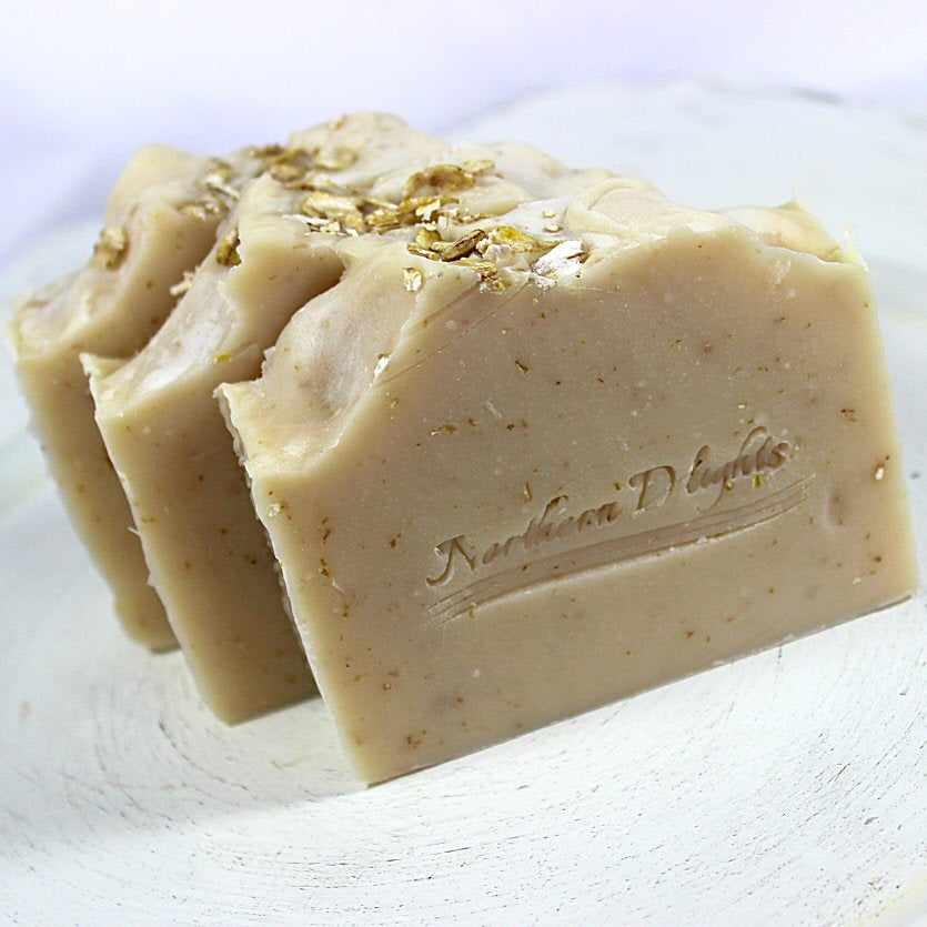 Oatmeal Milk and Honey Soap - Northerndlights