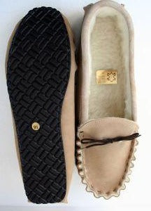 Extra Large Size Moccasin with Hard Sole | Malcolm