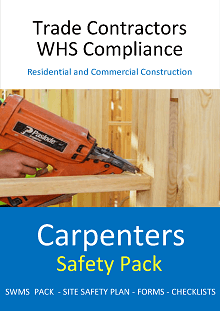 Carpenters Safety Pack - Construction Safety Wise