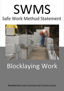 Blocklaying SWMS