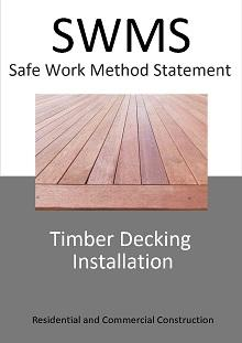 Timber Decking Installation SWMS