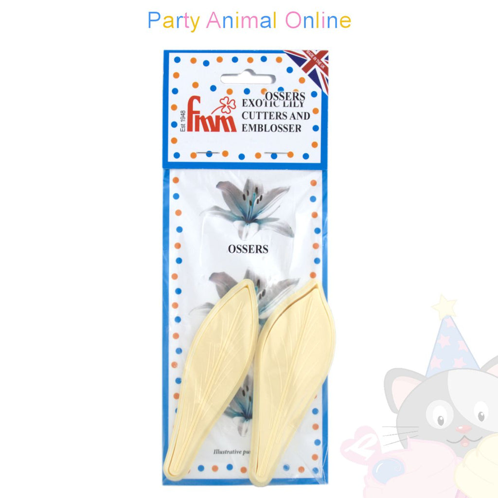 FMM Exotic Lily Cutters Set of 4