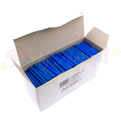 Bulk Pack of 500 Plain Birthday Cake Candles - Blue