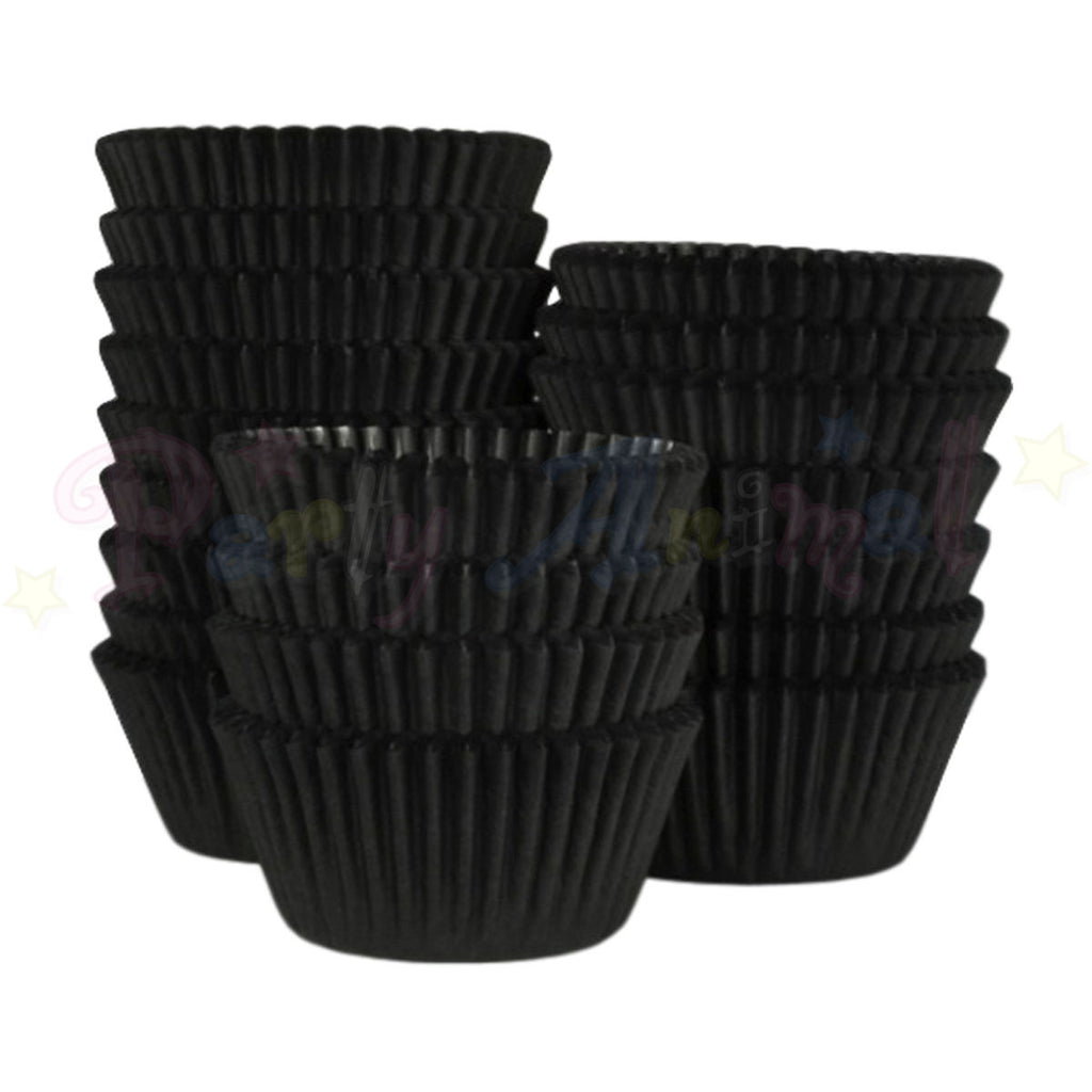 Baking Cases - approx. 500/pack - Plain Black