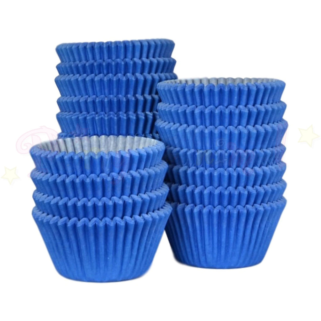 Baking Cases - approx. 500/pack - Plain Dark Blue