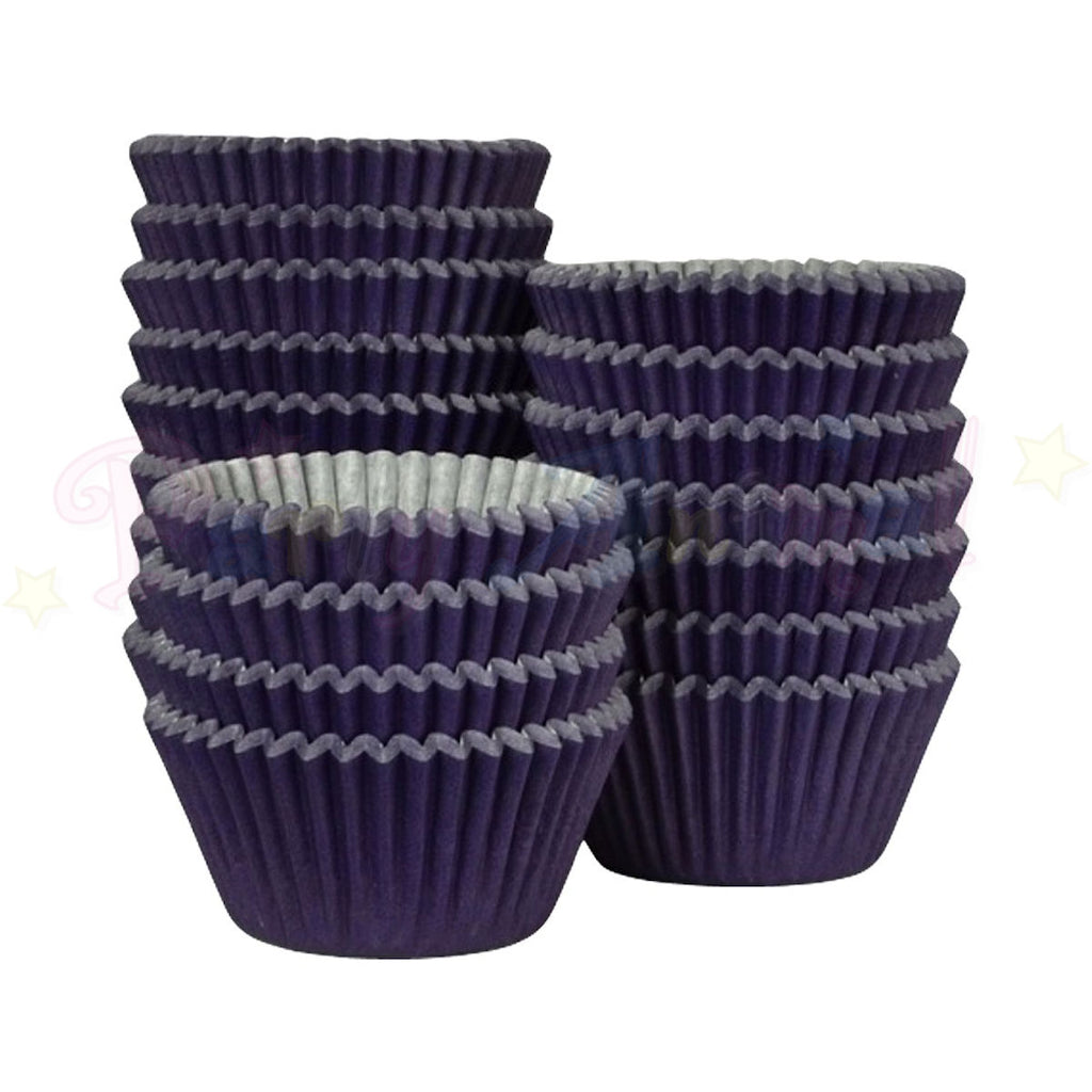 Baking Cases - approx. 500/pack - Plain Purple