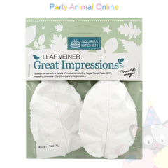 Great Impressions Double Veiners - Tea Rose Leaf Extra Large