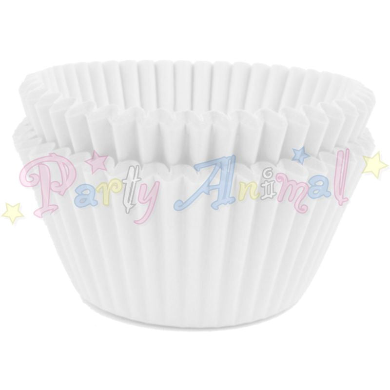 Baking Cases - approx. 50/pack - Plain White